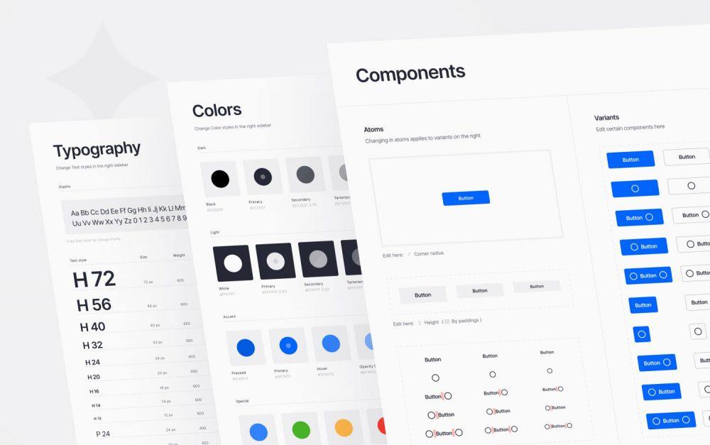 Website, web design, site of the day, sotd, Figma, Module Design, system, clean, modern, white, simple, Mindsparkle Mag