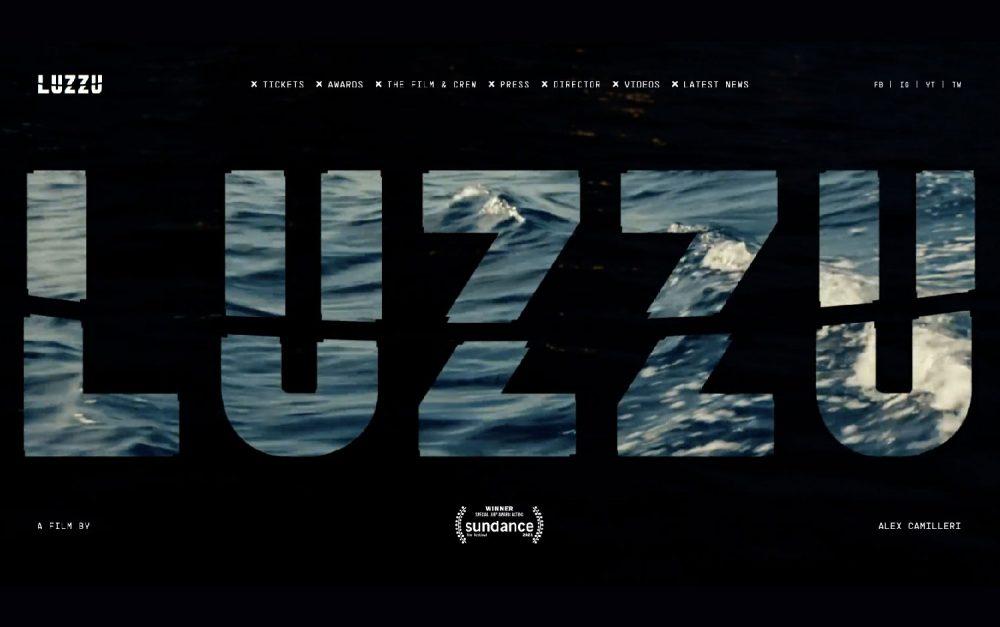 Luzzu, film, storytelling, Malta, Alex Camilleri, vertical scroll, design, dynamic, movie, award, international, website, sotd, site of the day, Mindsparkle Mag