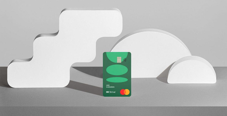 Strive, bank, brand, branding, credit card, premium, finance, fintech, illustration, app, digital, visual identity, graphic, design, Mindsparkle Mag