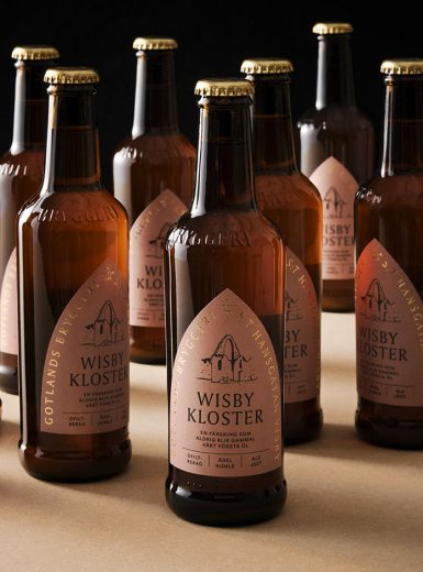 Gotlands Bryggeri, beer, branding, design, drink, Gotland, logo, packaging, historic, iconic, arc, brewery, Mindsparkle Mag
