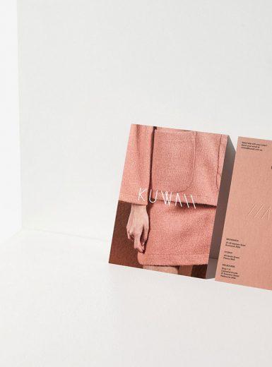 Kuwaii, branding, fashion, brand, warm, feel, aesthetic, texture, Australia, visual identity, typography, Mindsparkle Mag