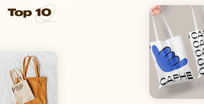 Top 10, series, design, branding, visual identity, souvenir, museum, campaign, tote bag, shopping, bag, Mindsparkle Mag
