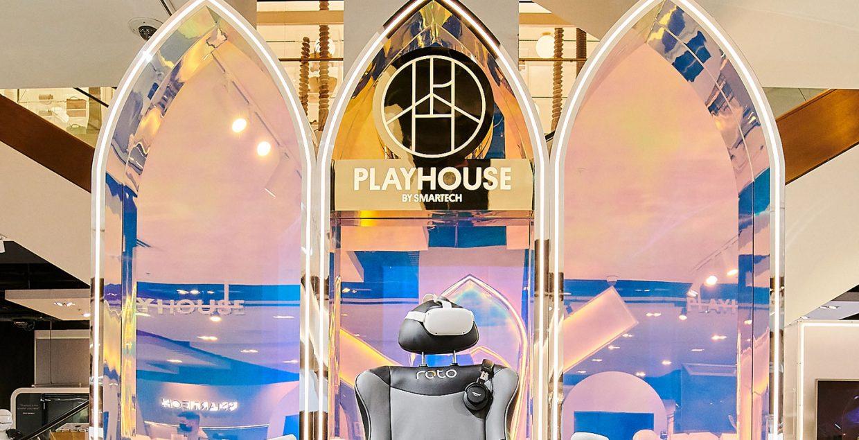 Playhouse, branding, gaming, concept, London, technology, innovation, vr, ar, 3d, design, motion, Mindsparkle Mag